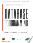 A Progressive Tutorial To Database Programming With Python Gui And Postgresql