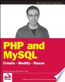 illustration PHP and MySQL