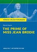 Muriel Spark The Prime of Miss Jean Brodie