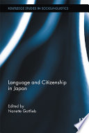 Language and Citizenship in Japan