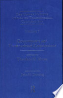 The United Nations library on transnational corporations : [international business and the world economy]. 7. Governments and transnational corporations
