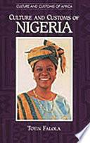 Ebook Culture and Customs of Nigeria Epub Toyin Falola Apps Read Mobile