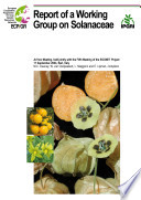 Report of a Working Group on Solanaceae