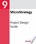 Project Design Guide For Microstrategy 9 3