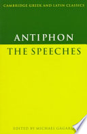 Antiphon: The Speeches