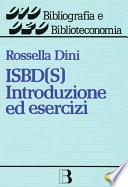 ISBD S   Introduzione ed esercizi