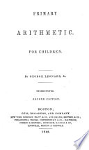 Primary Arithmetic for Children