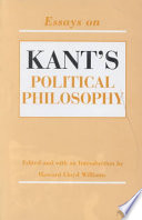 Essays on Kant's Political Philosophy