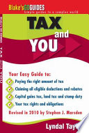 Tax and You