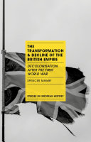 The Transformation and Decline of the British Empire