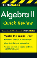CliffsNotes Algebra II QuickReview