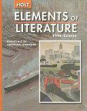 Holt Elements of Literature