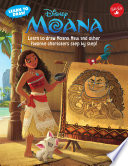 Learn to Draw Disney s Moana