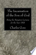 The Incarnation of the Son of God