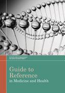 Guide to Reference in Medicine and Health Book