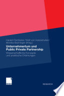 Unternehmertum und Public Private Partnership