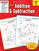 Scholastic Success With Addition   Subtraction  Grade 3