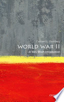 World War II  A Very Short Introduction