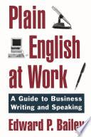 Plain English at Work