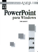 PowerPoint para Windows  versi  n 4 0