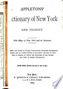 Appleton s Dictionary of New York and Its Vicinity Book PDF