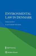 Environmental Law in Denmark Book