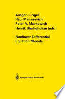 Nonlinear Differential Equation Models book