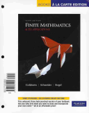 Finite Mathematics and Its Applications  Books a la Carte Plus MyMathLab MyStatLab Student Access Kit
