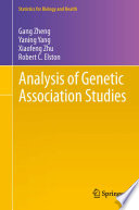 Analysis Of Genetic Association Studies : textbook in statistical genetics and genetic...