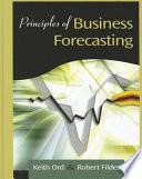 Principles of Business Forecasting