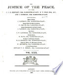 Justice of the Peace and Local Government Review