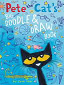 Pete the Cat s Big Doodle   Draw Book