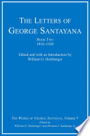 The Letters of George Santayana
