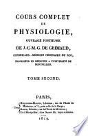 Cours complet de Physiologie