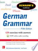 Schaum s Outline of German Grammar