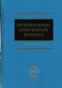 International Arbitration in Korea