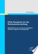 Ethik-Standards fr die Kommunalverwaltung