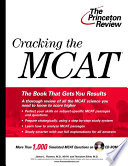 Cracking the MCAT with CD ROM