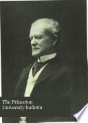 The Princeton University Bulletin