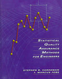 Statistical Quality Assurance Methods for Engineers