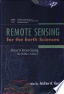 Manual Of Remote Sensing Remote Sensing For The Earth Sciences