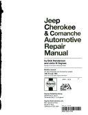 Jeep Cherokee   Comanche