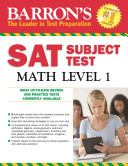 Barron s SAT Subject Test Math Level 1  5th Edition