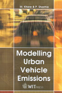 Modelling Urban Vehicle Emissions book