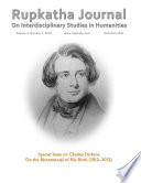 Special Issue on Charles Dickens On the Bicentennial of His Birth  1812 2012