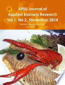 APSU JABR Vol 1  No 2  November 2014