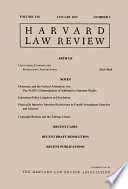Harvard Law Review  Volume 128  Number 3   January 2015
