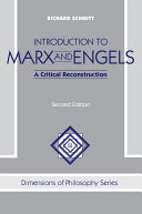 Introduction To Marx And Engels Book