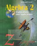 Algebra Connections Book