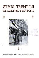 Studi trentini di scienze storiche